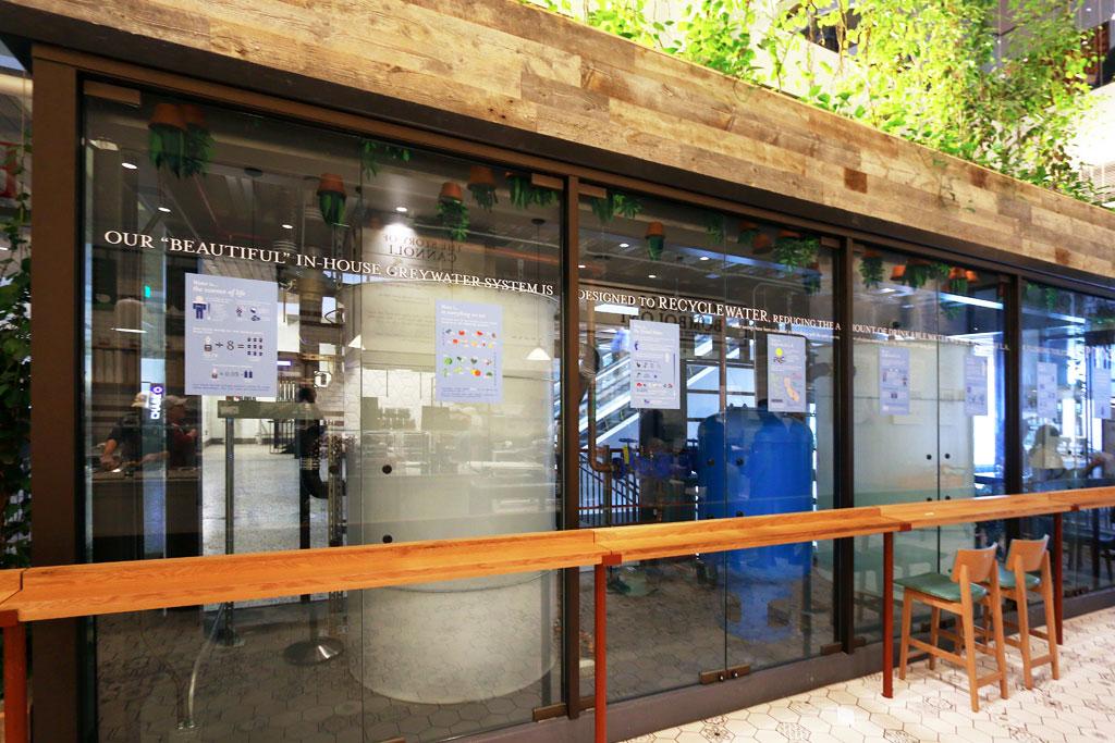 Eataly L.A Aqualoop Water Recycling