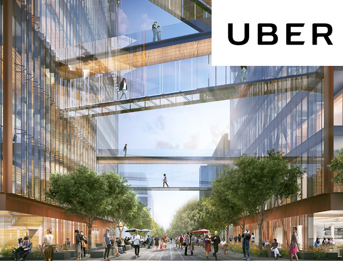 UBER offices, San Francisco, CA