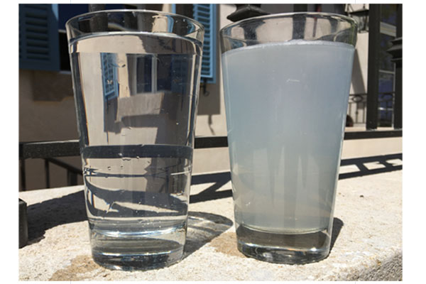 residential water quality after treatment