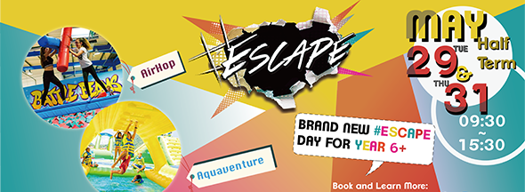 #Escape for Year 6 and over!