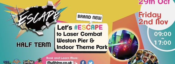 #Escape this Half Term for Year 6 +