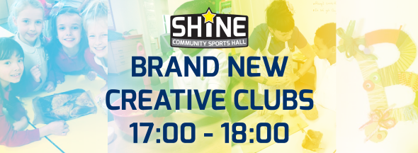 BRAND NEW Creative Clubs from 17:00 in Term 4!
