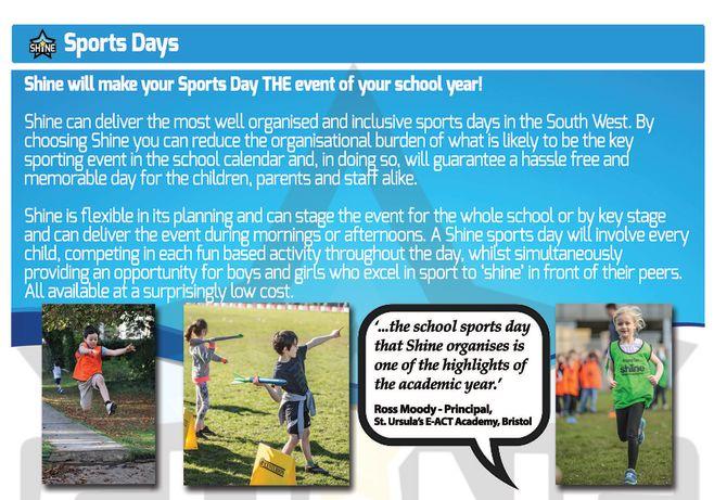 Shine Sports Days
