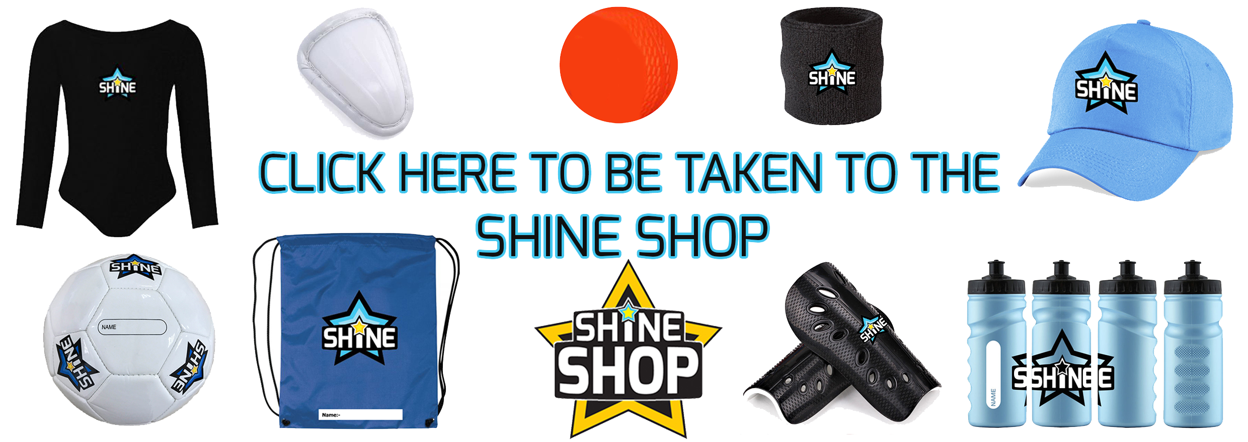 Click here to be taken to the Shine Shop