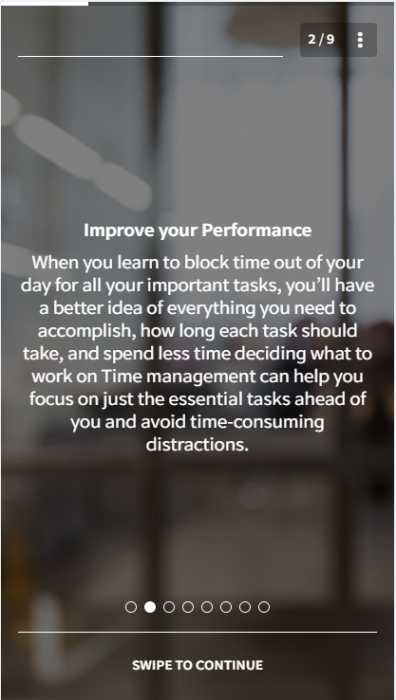 Sales Training Topic Idea - Time Management
