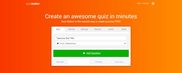 Online Quiz Maker - Quiz Maker