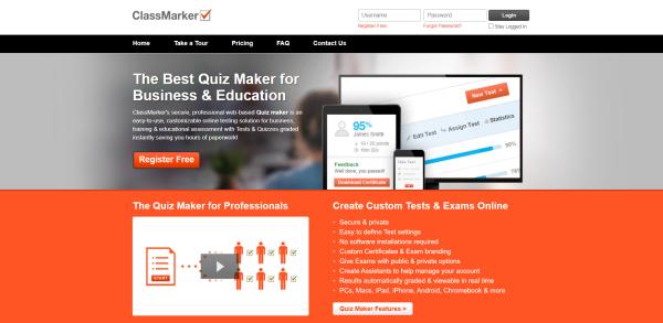 Online Quiz Maker - ClassMarker