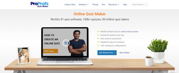 Online Quiz Maker - ProProfs
