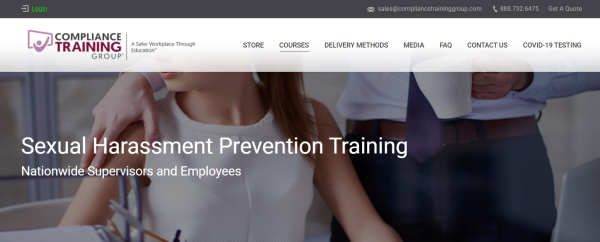 Sexual Harassment Training Course - Compliance Training Group