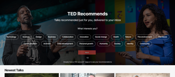Video Training Software - TED
