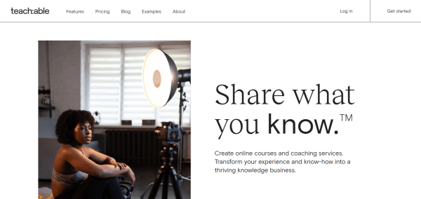 Video Training Software - Teachable