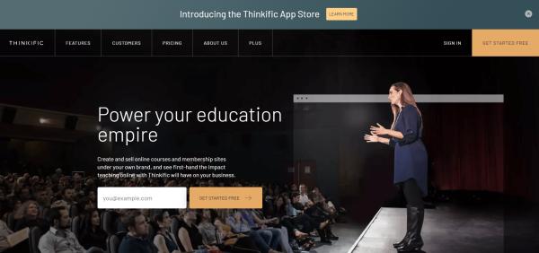 Video Training Software - Thinkific