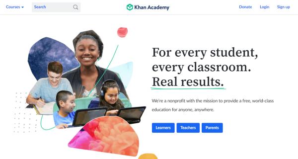 Video Training Software - Khan Academy