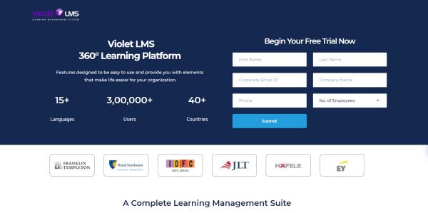 Learning Engagement Platform - Violet LMS