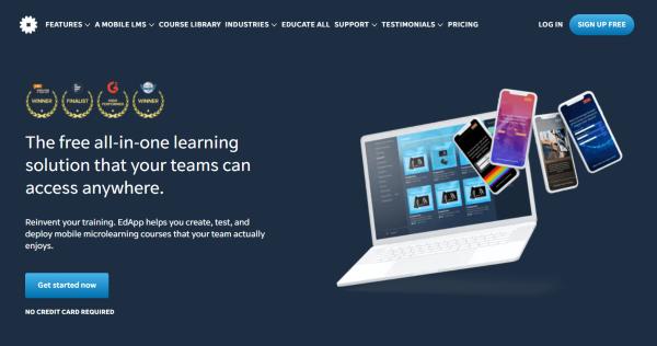 Web-Based Training Platform - EdApp