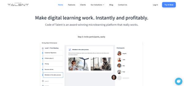 Employee Training Platform - Code of Talent
