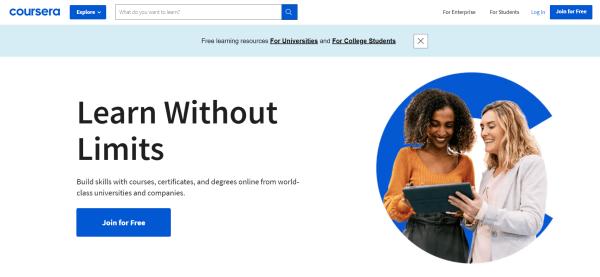 Employee Training Platform - Coursera