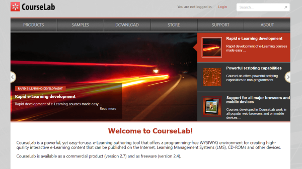 Online Course Creation Software - CourseLab