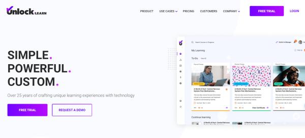 Online Course Creation Software - Unlock:Learn