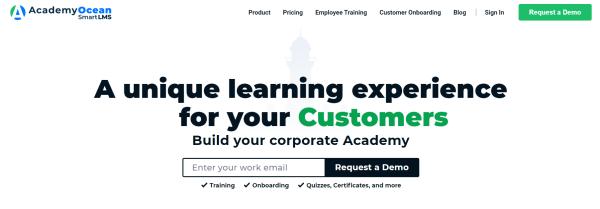 Onboarding Software - AcademyOcean