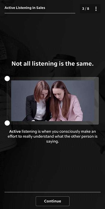 Sales Course - Active Listening