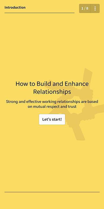 Sales Course - Building Relationships
