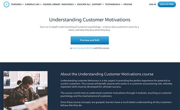 Sales Course - Customer Motivations
