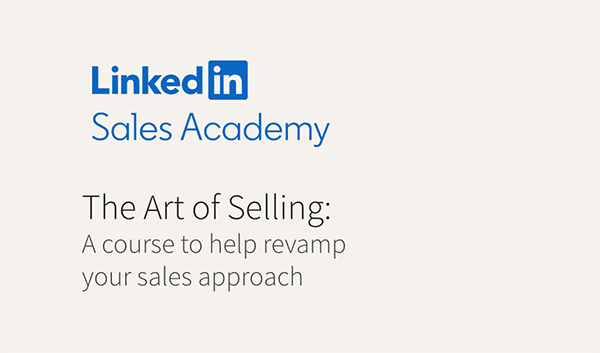 Sales Course - Art of Selling