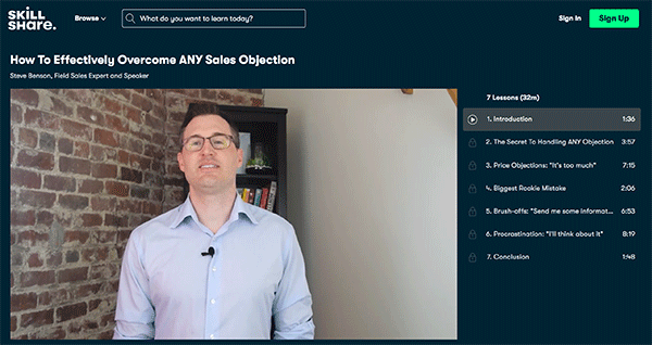 Sales Course - Overcome Objections