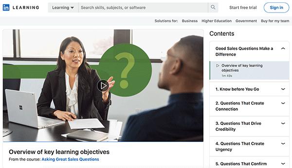 Sales Course - Sales Questions
