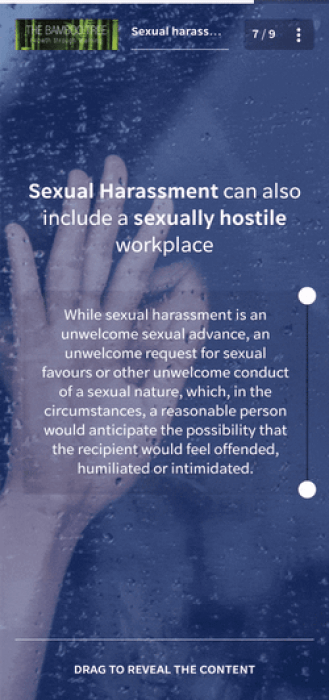 Sexual Harassment Training Course - The Bamboo Tree
