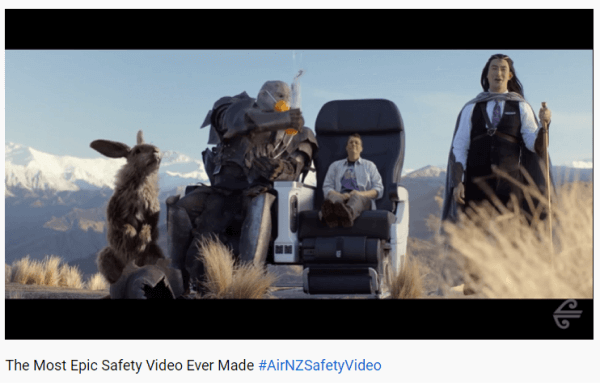 Free Safety Training Video - Air New Zealand