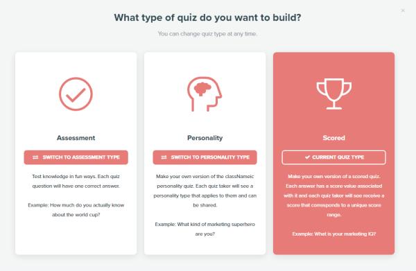 Online Quiz Creator - Interact