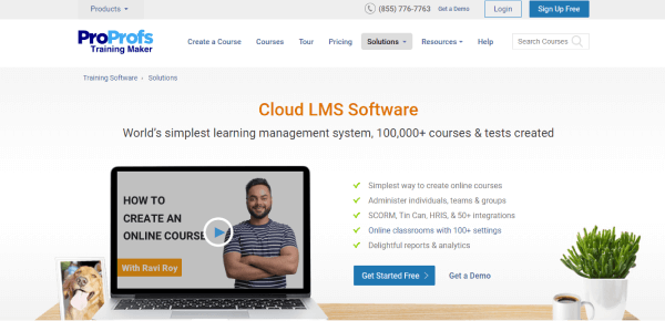 Hybrid Learning Management Software - ProProfs