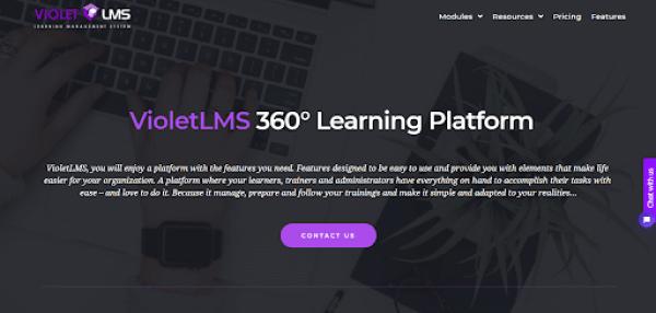 Blended Learning LMS - Violet LMS