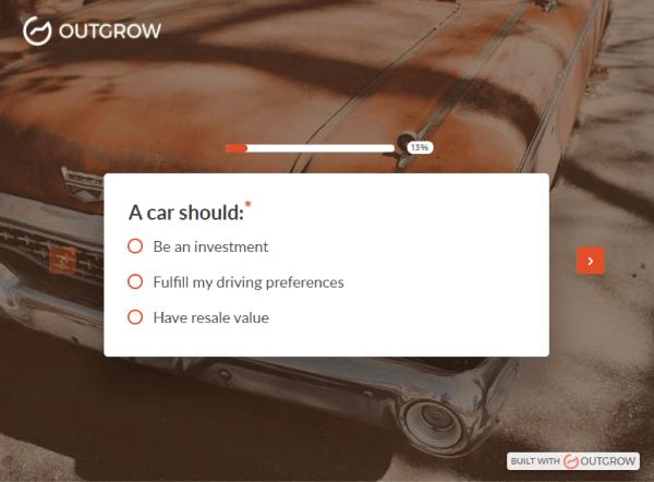 10 quiz creators - outgrow
