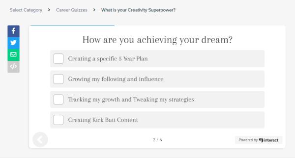 10 quiz creators - Interact