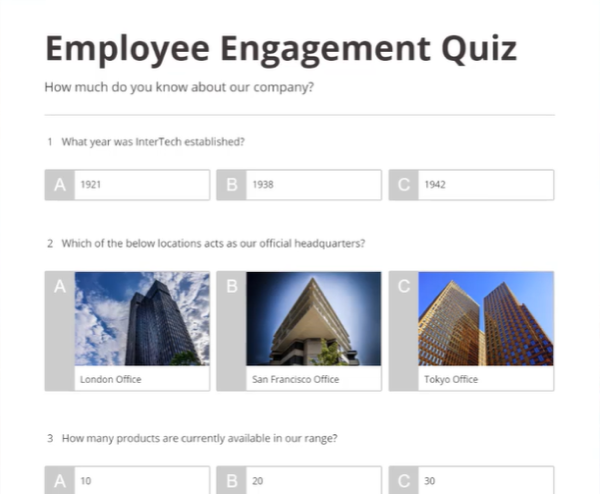 10 quiz creators - FreeOnlineSurveys.com
