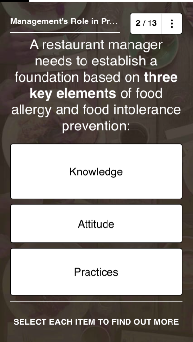 Top 10 Employee Training Videos & Microlearning Courses - Allergies and Food Intolerance in Restaurants