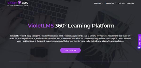 Personnel Training Software - Violet LMS