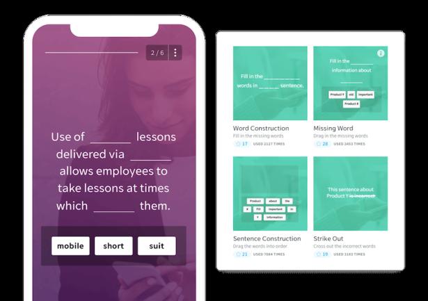 Online Training Website - EdApp - Gamification