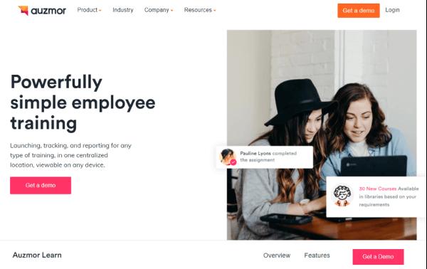 Employee Training Website - Auzmor Learn