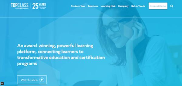 Online Training Website - TopClass LMS