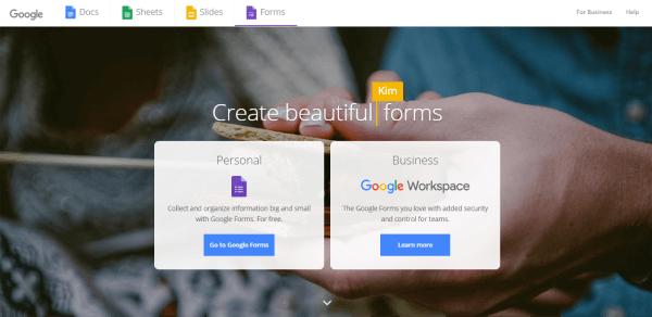 Quiz Software - Google Forms