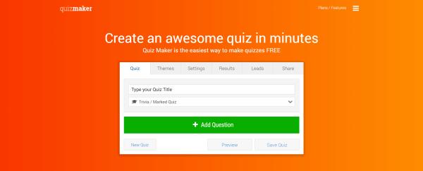 Quiz Software - QuizMaker