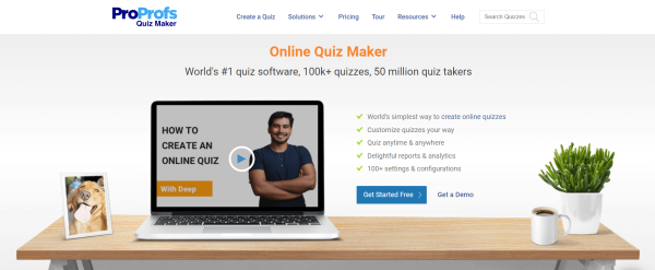 Quiz Software - ProProfs