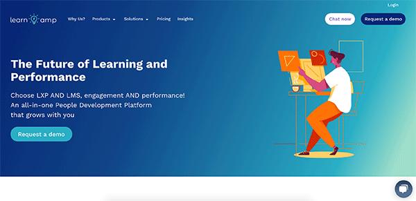 Training LMS - Learn Amp