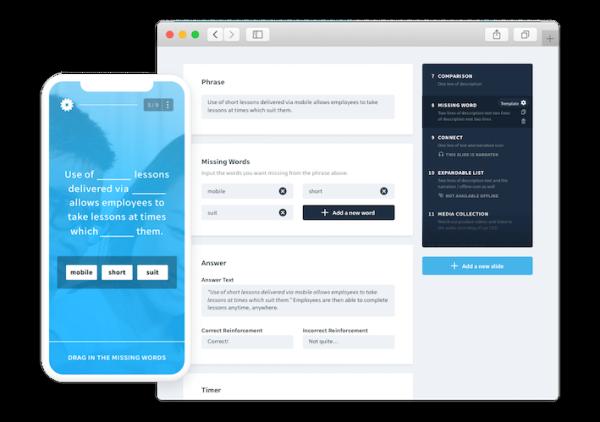 Technology Training Tool - EdApp - Authoring Tool