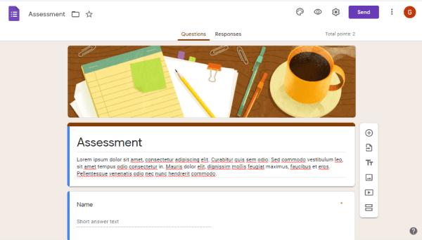 Skills Assessment Tool - Google Forms