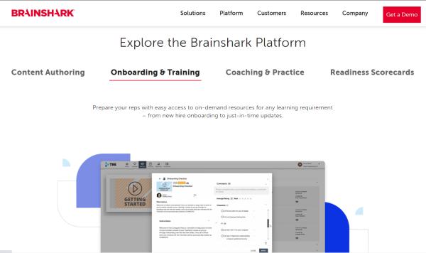 Online HR Platform - Brainshark